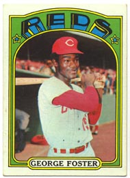 1972 Topps Baseball Cards      256     George Foster